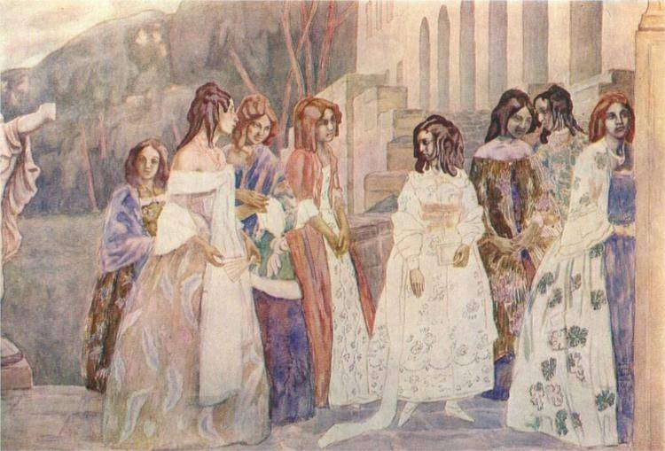 В.э. борисов-мусатов: направления живописи, цены, рекорды продаж картин | оценка, продажа и скупка картин борисова-мусатова — «лермонтов»