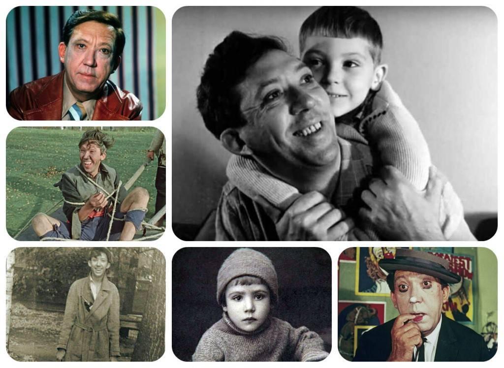 Юрий никулин - биография, фото, личная жизнь, фильмы