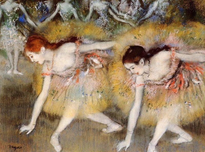 Эдгар дега. «живописец танцовщиц»