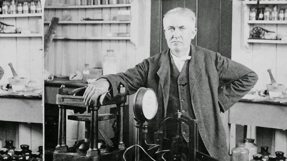 Томас эдисон: краткая биография, фото и видео