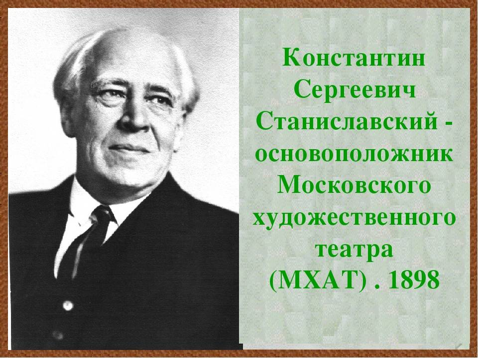 Станиславский, константин сергеевич - вики