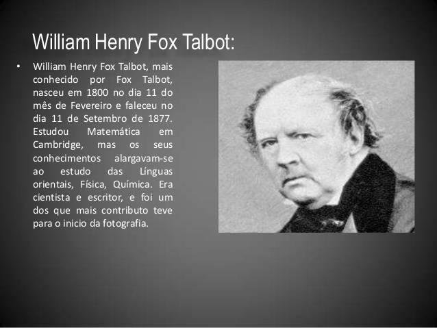 Тальбот, уильям генри фокс — википедия. что такое тальбот, уильям генри фокс