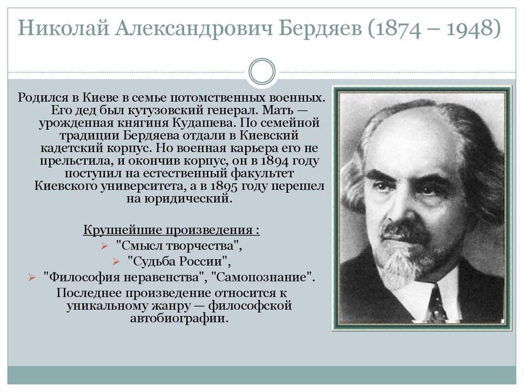 Бердяев николай александрович - биография, новости, фото, дата рождения, пресс-досье. персоналии глобалмск.ру.