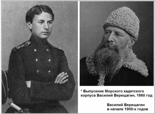 Биография Василия Верещагина