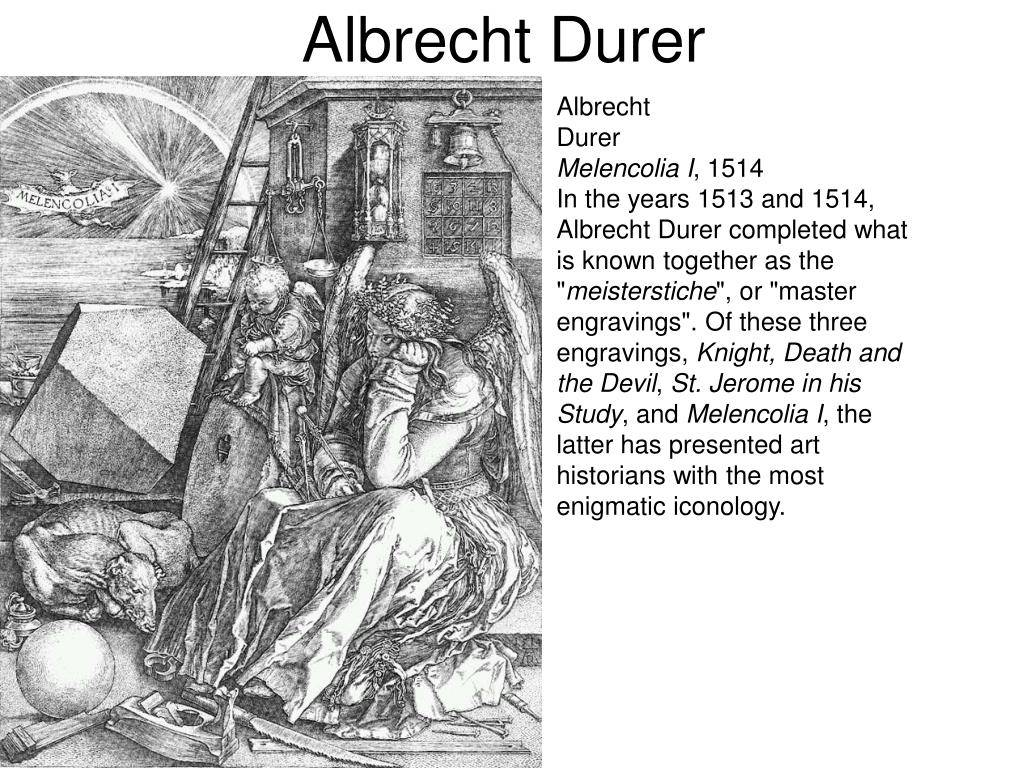 Биография альбрехта дюрера