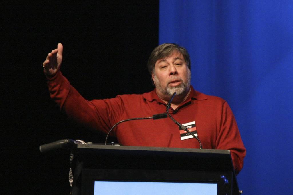 Стив возняк провёл лекцию в москве. что интересного сказал?