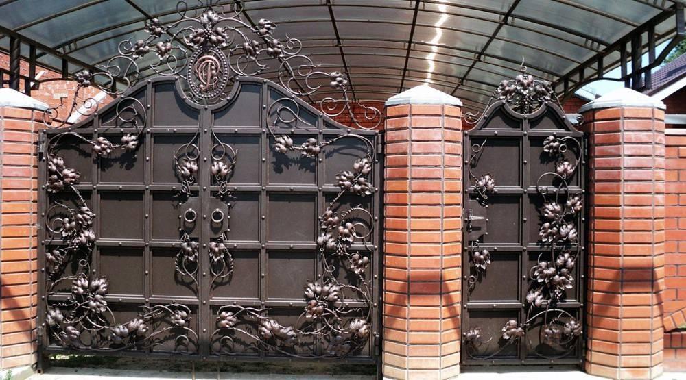 Навесы заборы ворота