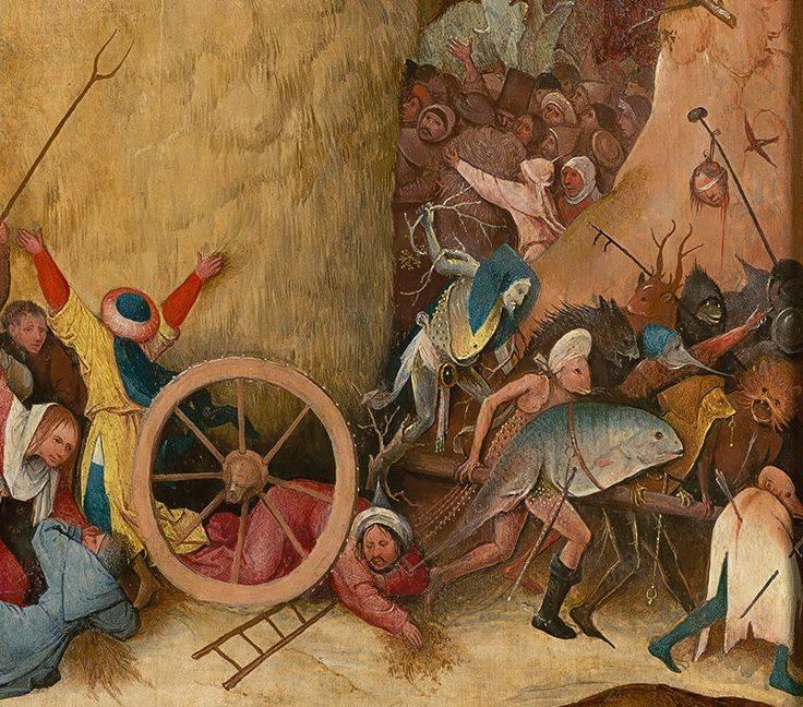 Искусство- зеркало истории: картины  иеронима босха