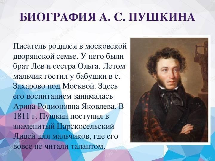 Александр сергеевич пушкин — циклопедия