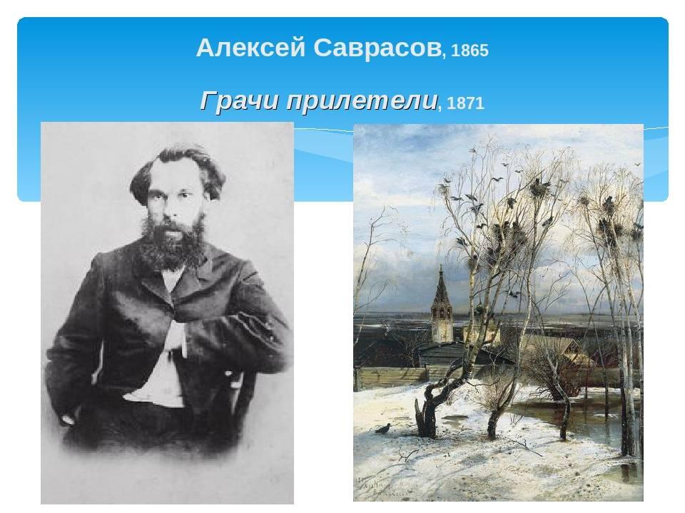 Саврасов а к: картины художника, биография