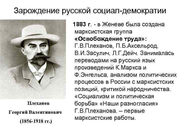 Георгий валентинович плеханов - вики