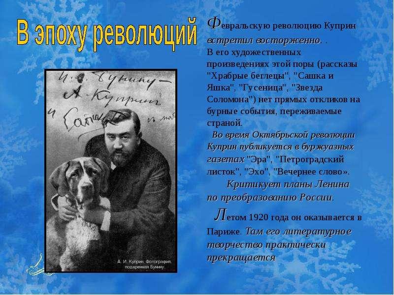 Куприн – биография: кратко о жизни и творчестве и последних годах русского писателя   tvercult.ru