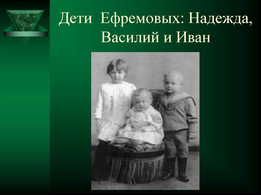 Библиография и.а.ефремова