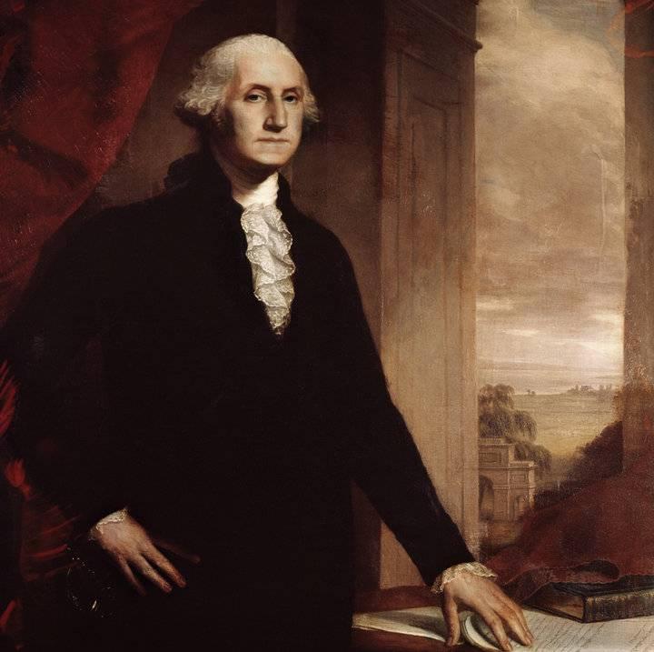 Джордж вашингтон - первый президент сша, отец американской нации - информация о сша   соединенные штаты америки