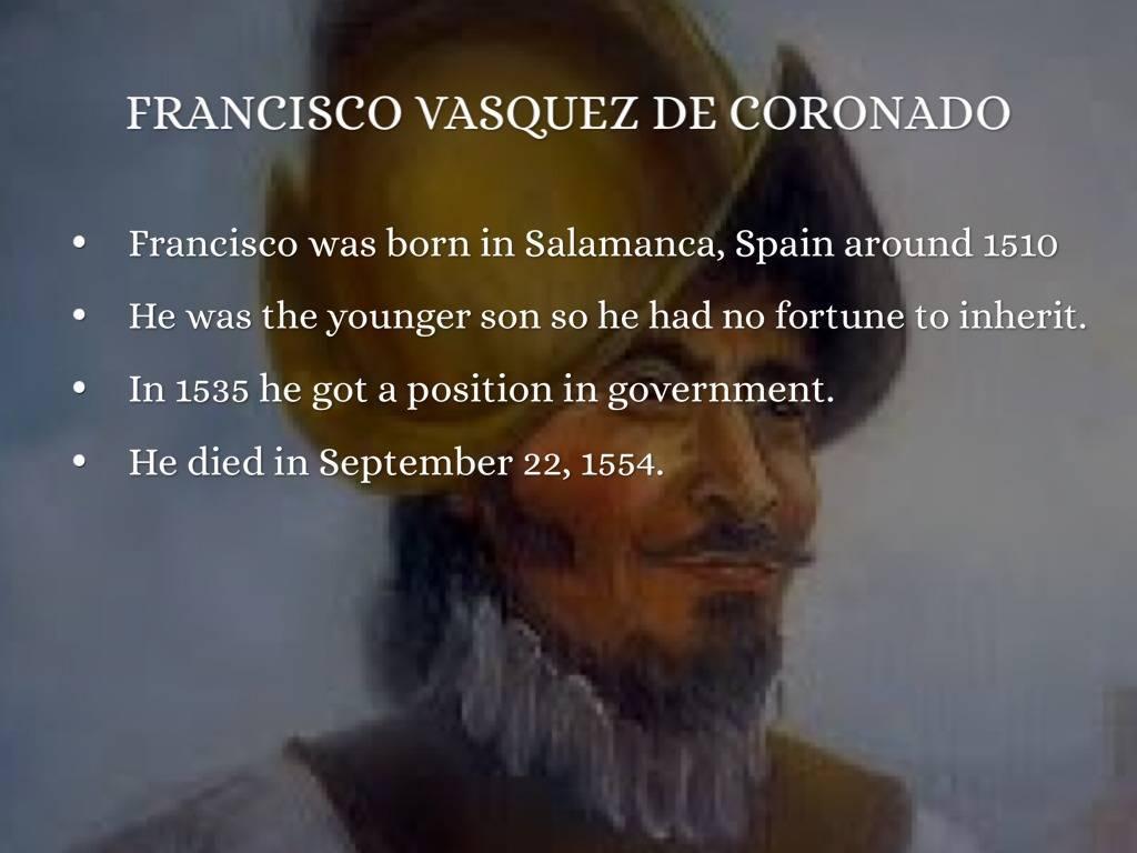 Коронадо, франсиско васкес де