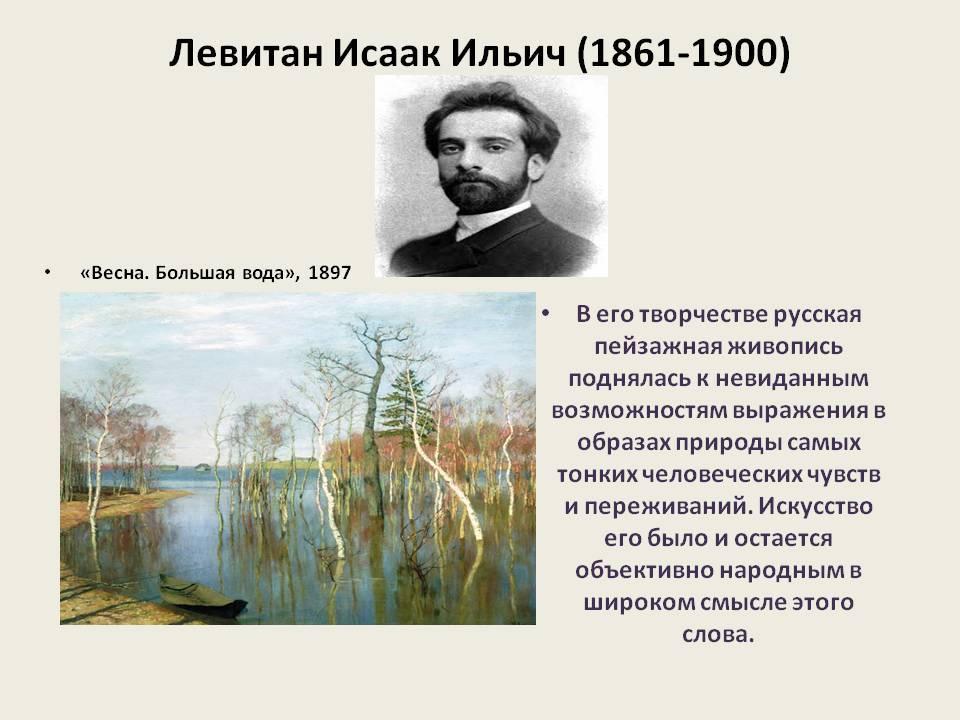 Исаак левитан - биография