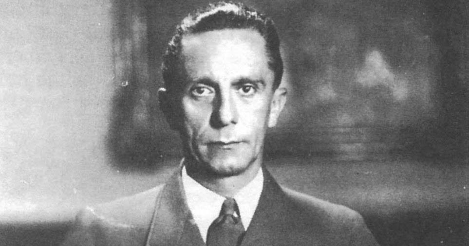 Йозеф геббельс: гений пропаганды нацисткой германии
