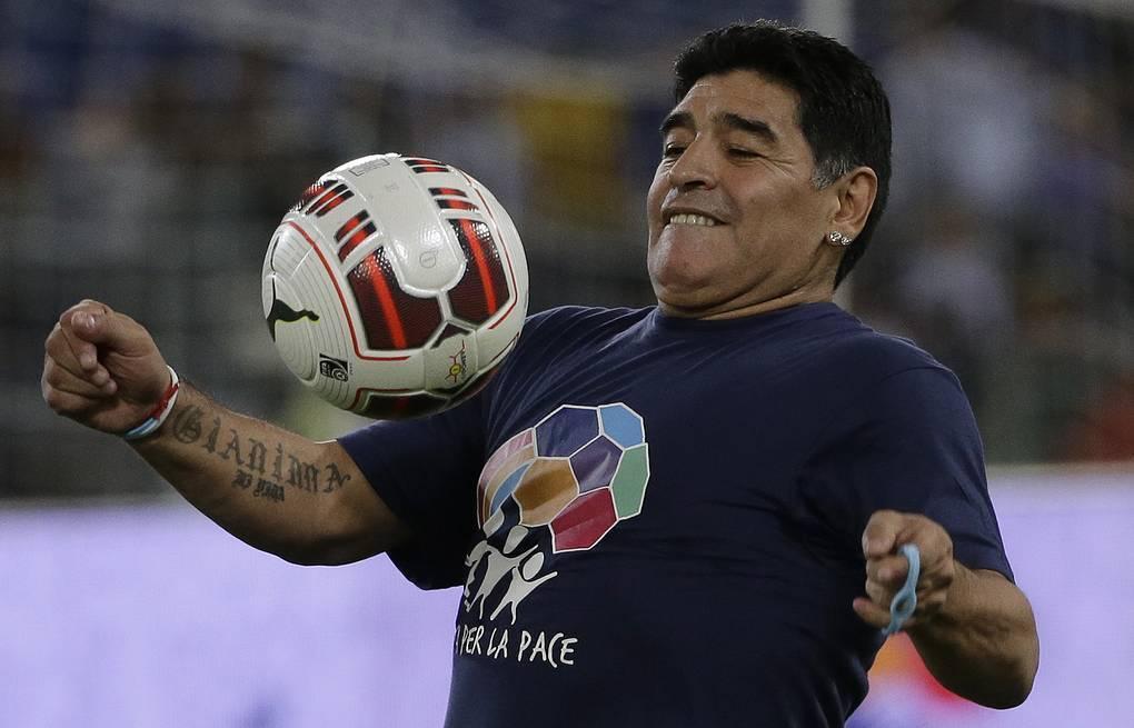 Диего армандо марадона - биография - football classic
