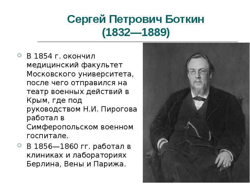 Сергей петрович боткин (1832-1889) [1948 - - люди русской науки. том 2]