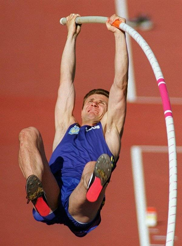 Сергей бубка - непобедимый советский прыгун с шестом