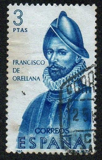 Орельяна, франсиско де биография, память