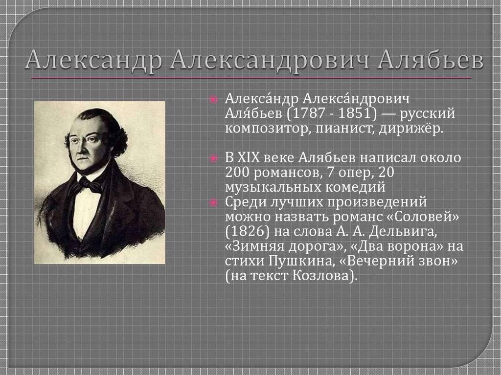 Wikizero - алябьев, александр александрович