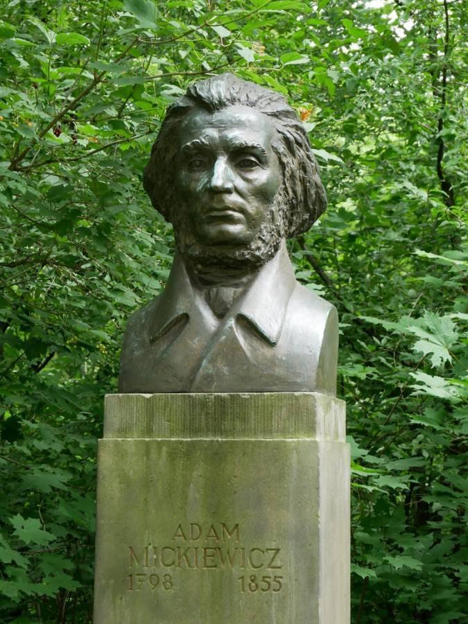 Краткая биография адам мицкевича