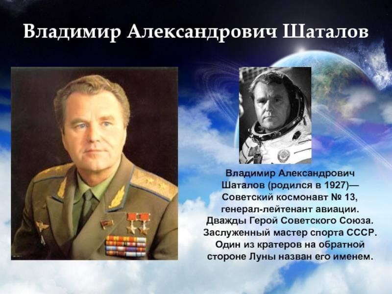 Космонавты ссср список по порядку