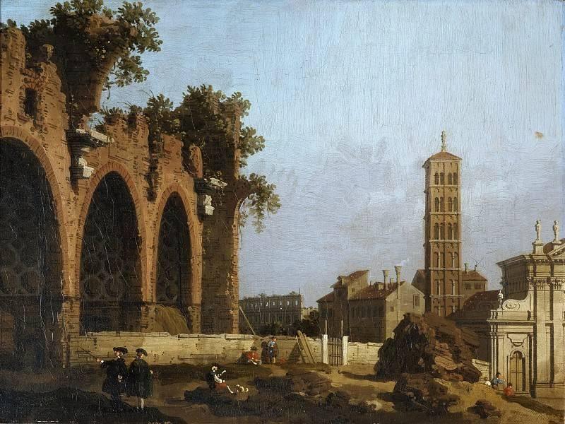 Вид на дворец дожей в венеции, антонио каналь (каналетто) - галерея