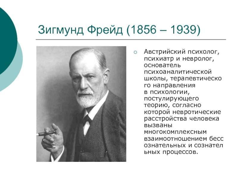 Зигмунд фрейд - биография