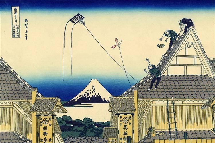 Кацусика хокусай и его утерянная в веках дочь: небольшой экскурс в историю японской живописи
