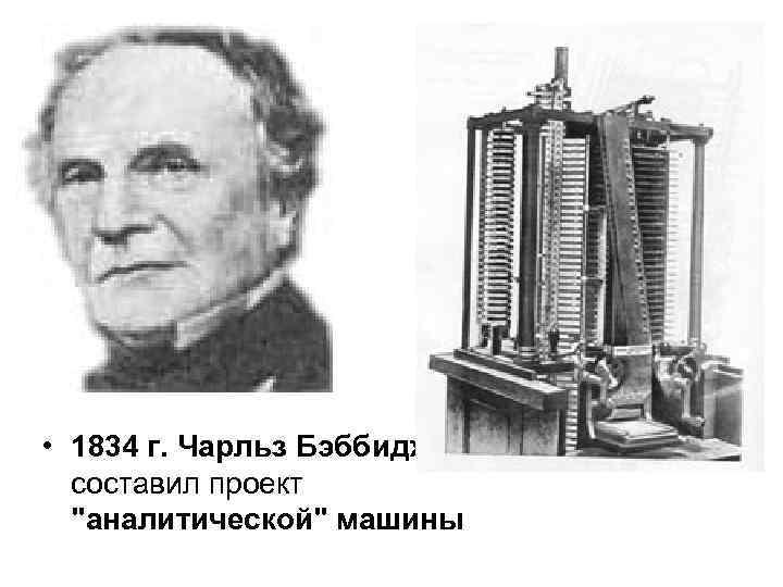 Чарльз бэббидж
