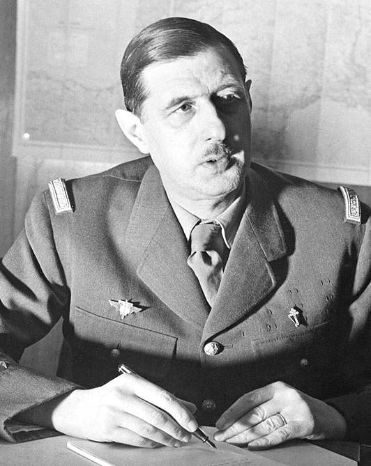 Шарль де голль — биография президента франции   исторический документ