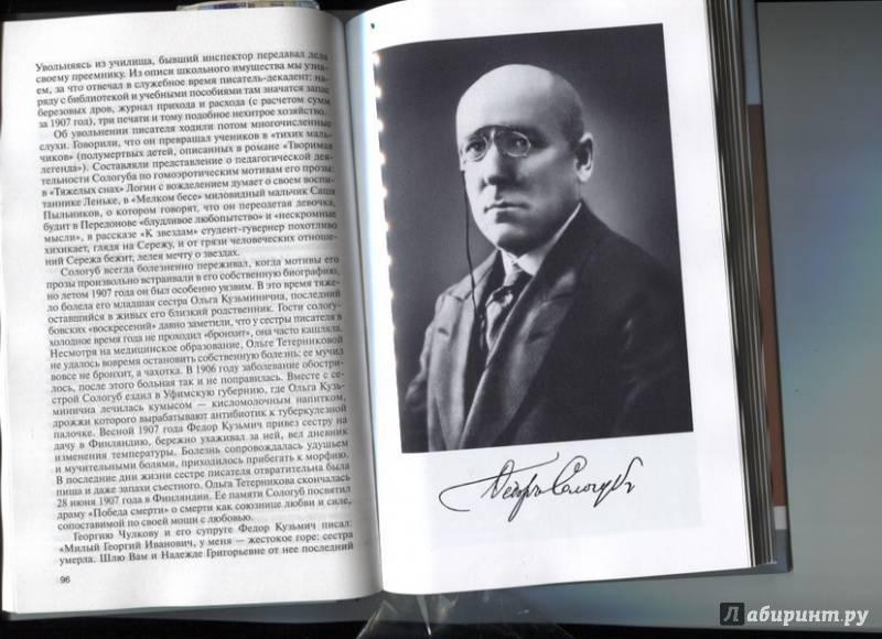 Федор сологуб: биография и творчество (фото)