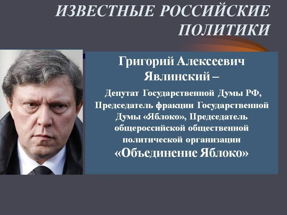 Григорий алексеевич явлинский — циклопедия