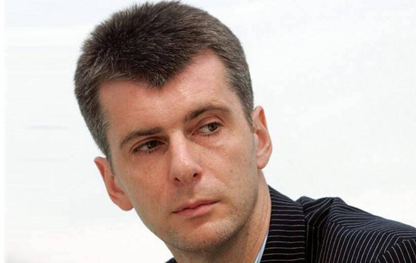Михаил прохоров: биография, личная жизнь, семья, жена, дети — фото