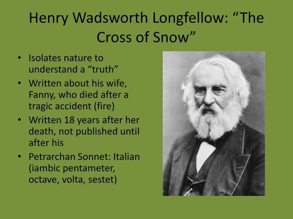 Генри лонгфелло — биография. факты. личная жизнь