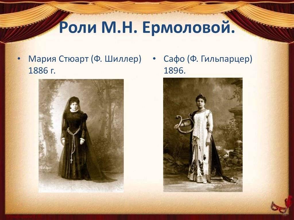 Ермолова, мария николаевна