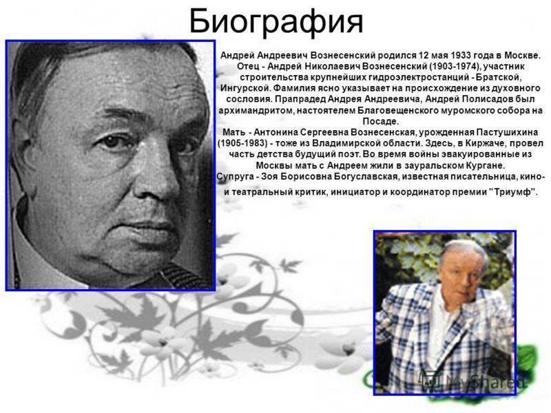 Вознесенский, андрей андреевич — википедия