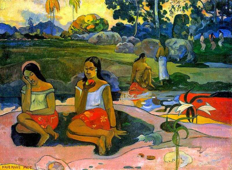 Два сезона любви поля гогена: добродетельная датчанка и страстная таитянка