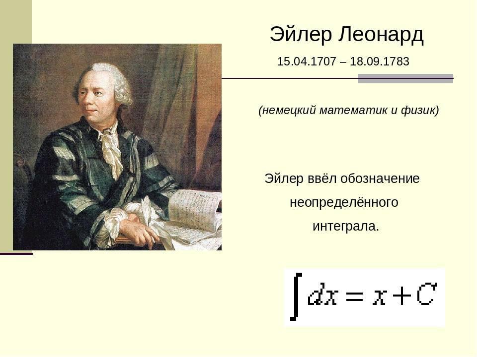 Глава iv научные заслуги эйлера