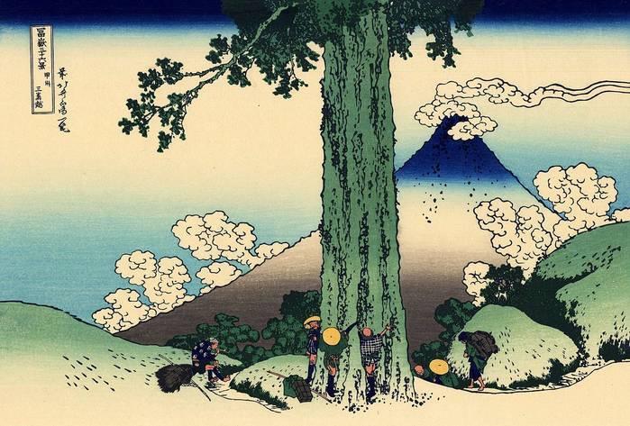 Японский художник кацусика хокусай: биография и творчество