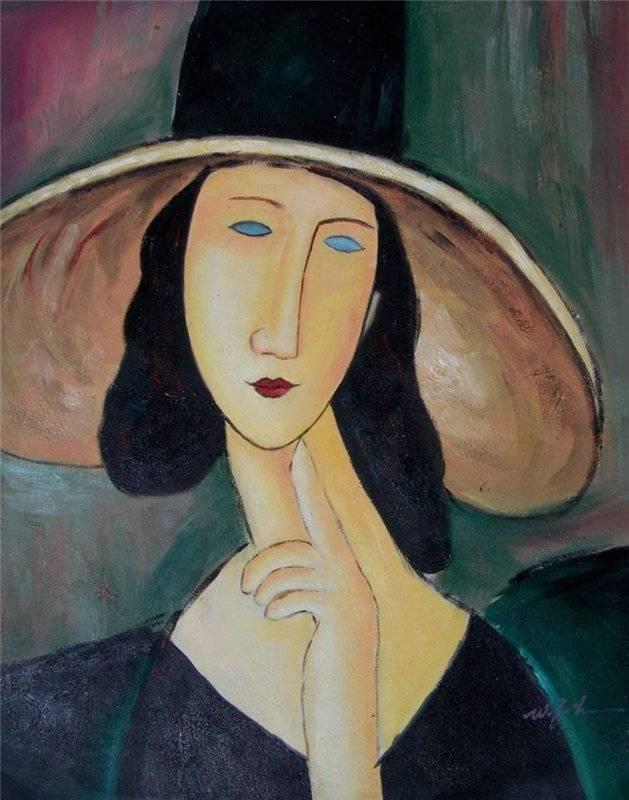 Амедео модильяни - 369 картин | экспрессионизм | artsviewer.com
