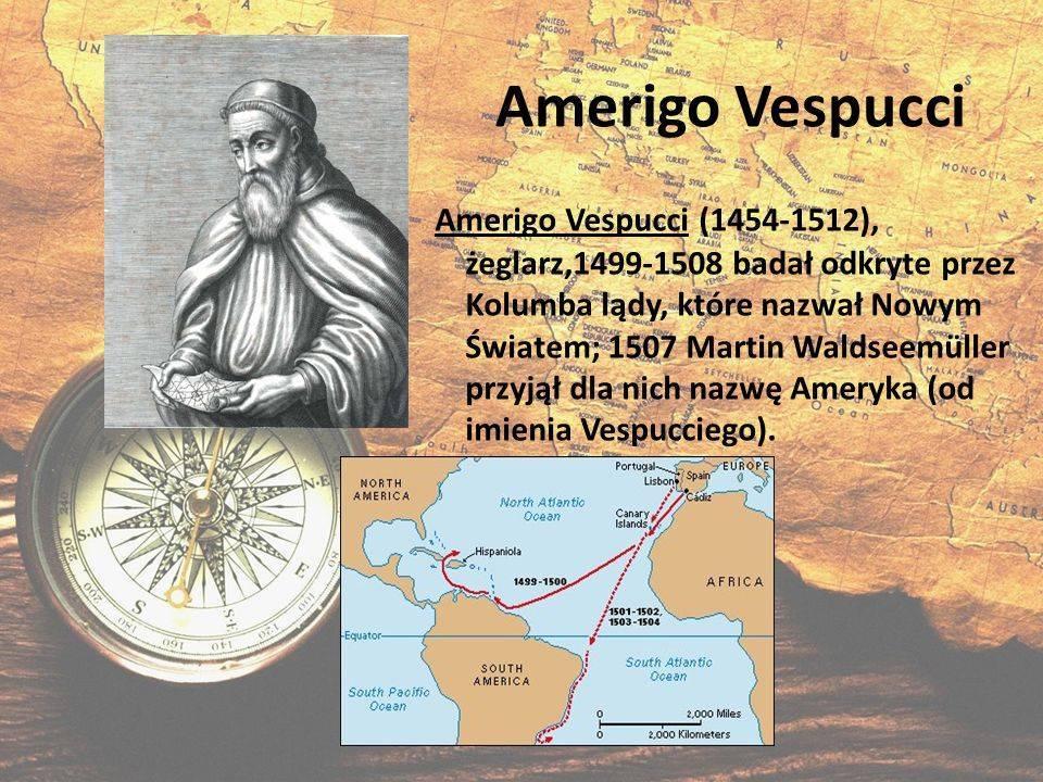 Краткая биография америго веспуччи и открытие америки в экспедициях