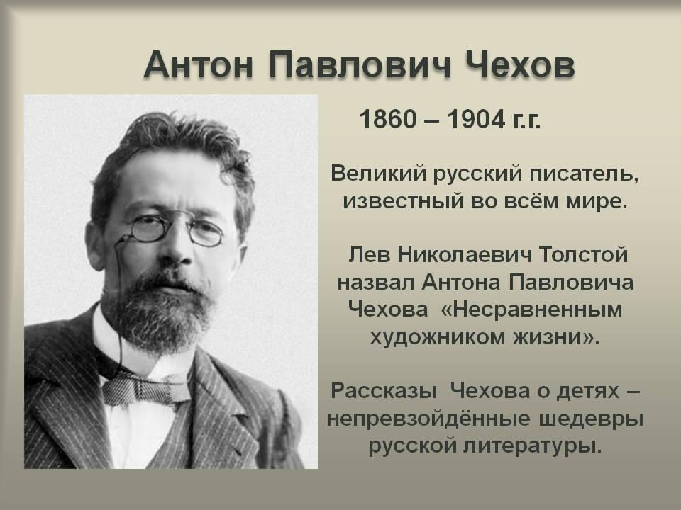 Биография чехова кратко ℹ️ личная жизнь, семья, жена, дети, интересные факты, псевдонимы, известные книги и произведения писателя
