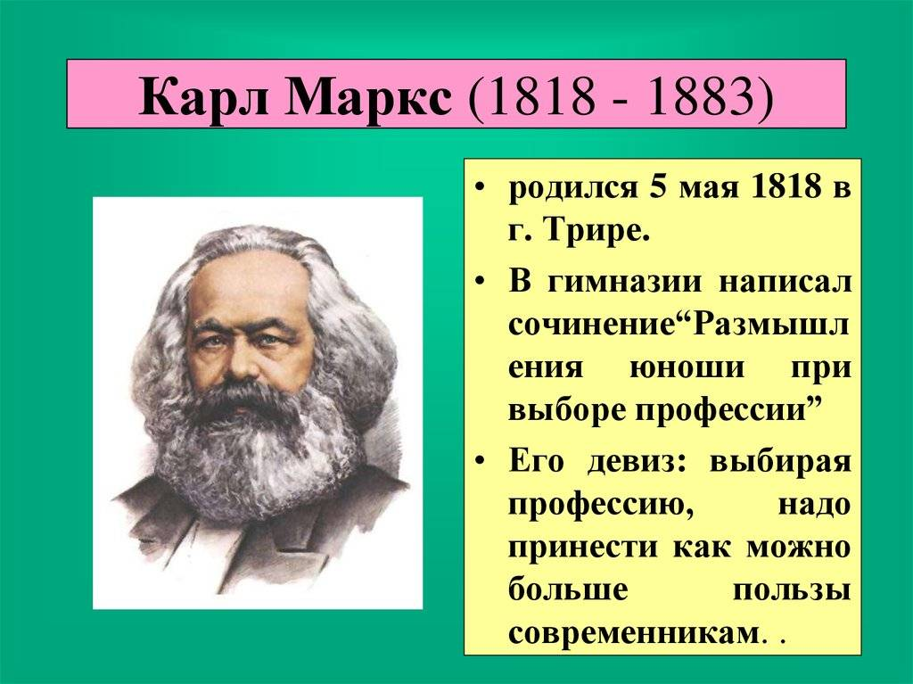 Карл маркс: биография, личная жизнь, фото и видео