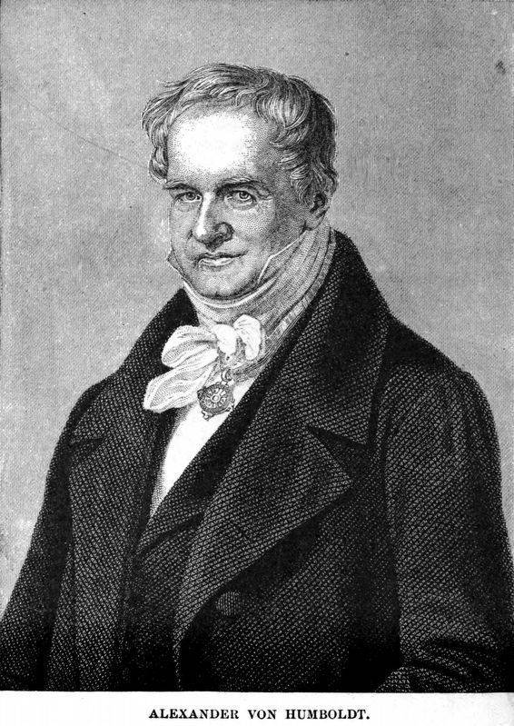 Александр фон гумбольдт — краткая биография | краткие биографии