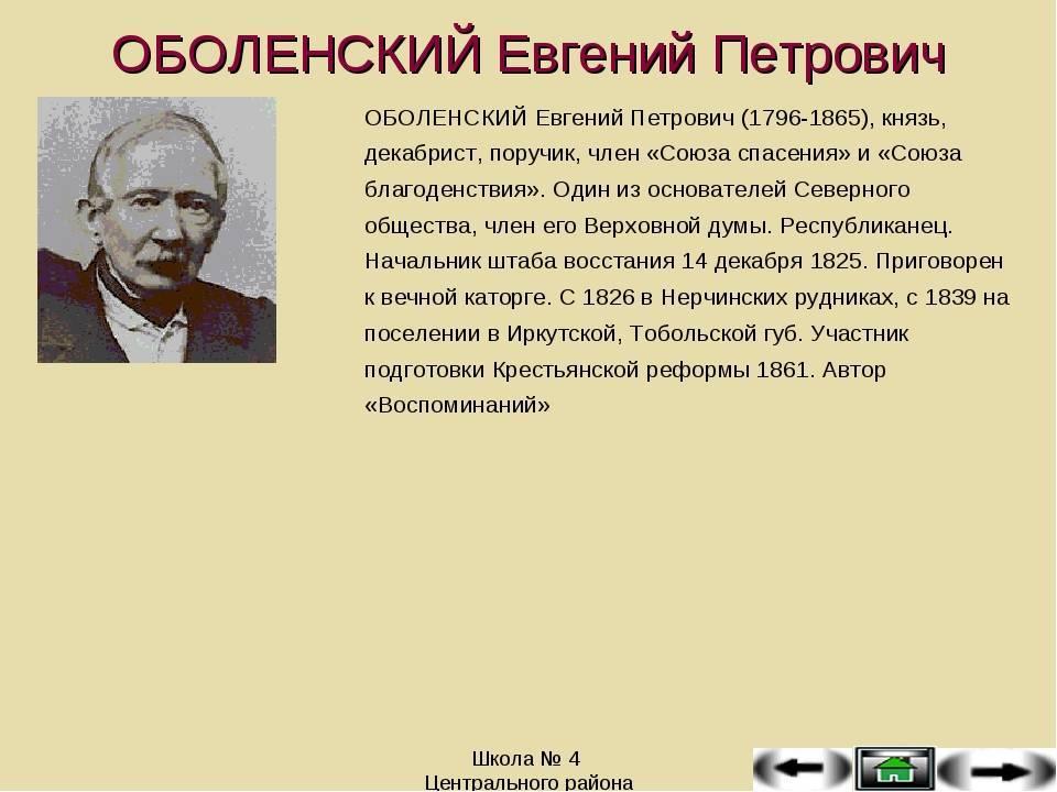 Оболенский, николай николаевич