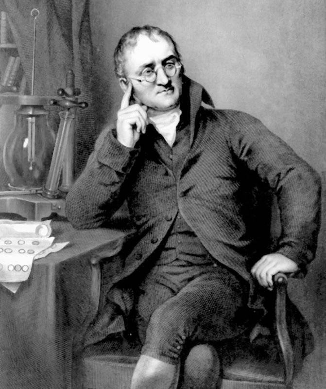 Что сделал дальтон для химии. биография джона дальтона