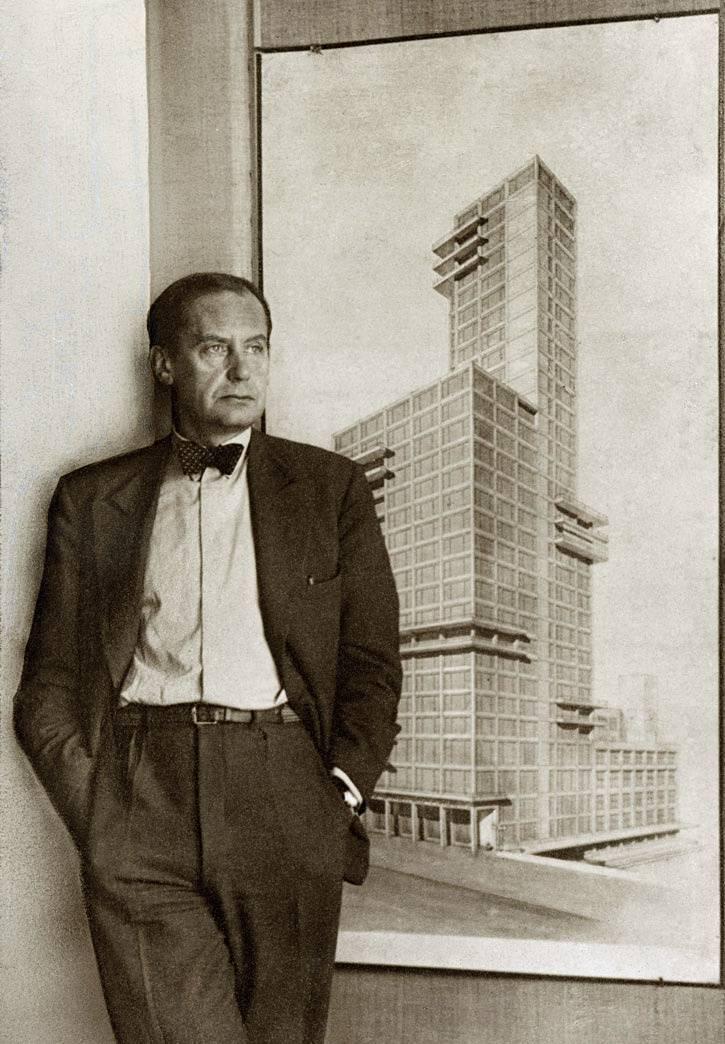 Великие архитекторы: вальтер гропиус